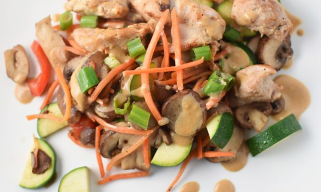 Chicken and Vegetable Stir Fry